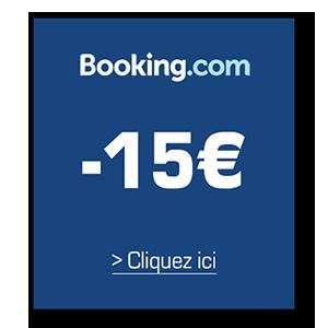 Economisez 15 euros sur votre première nuit