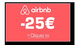 Economisez 25 euros sur votre première nuit