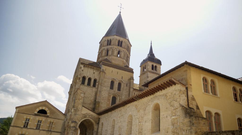 Abbaye de Cluny en Bourgogne Franche-Comté