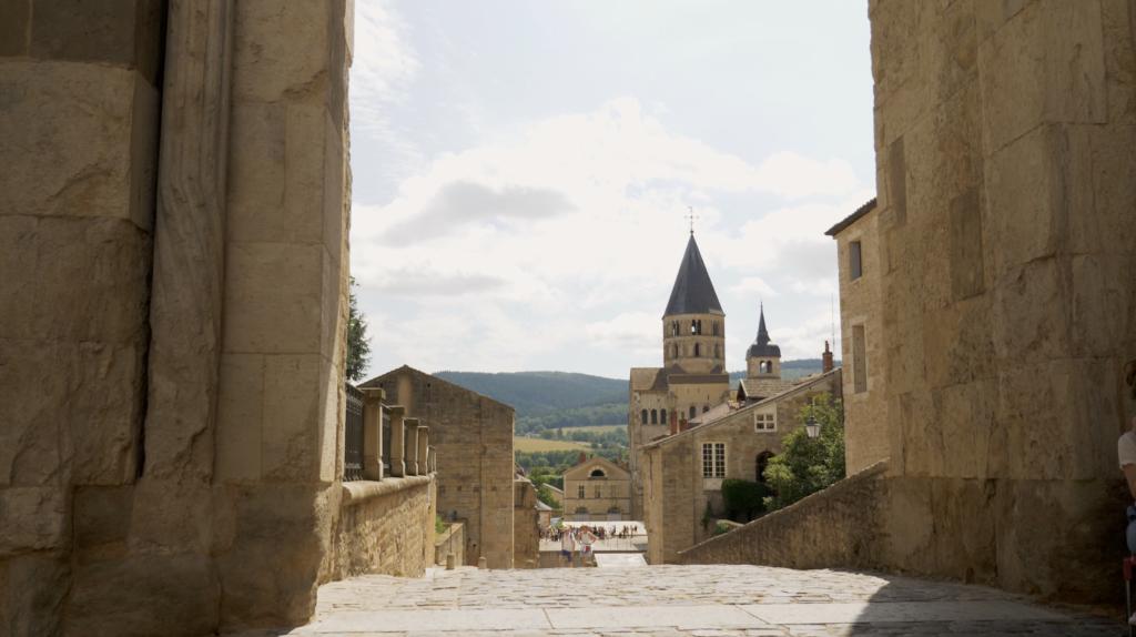 Abbaye de Cluny en Saône-et-Loire