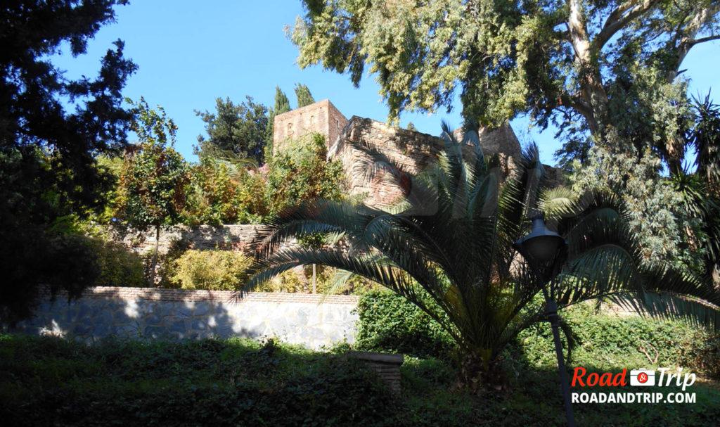 Alcazaba vu d'extérieure