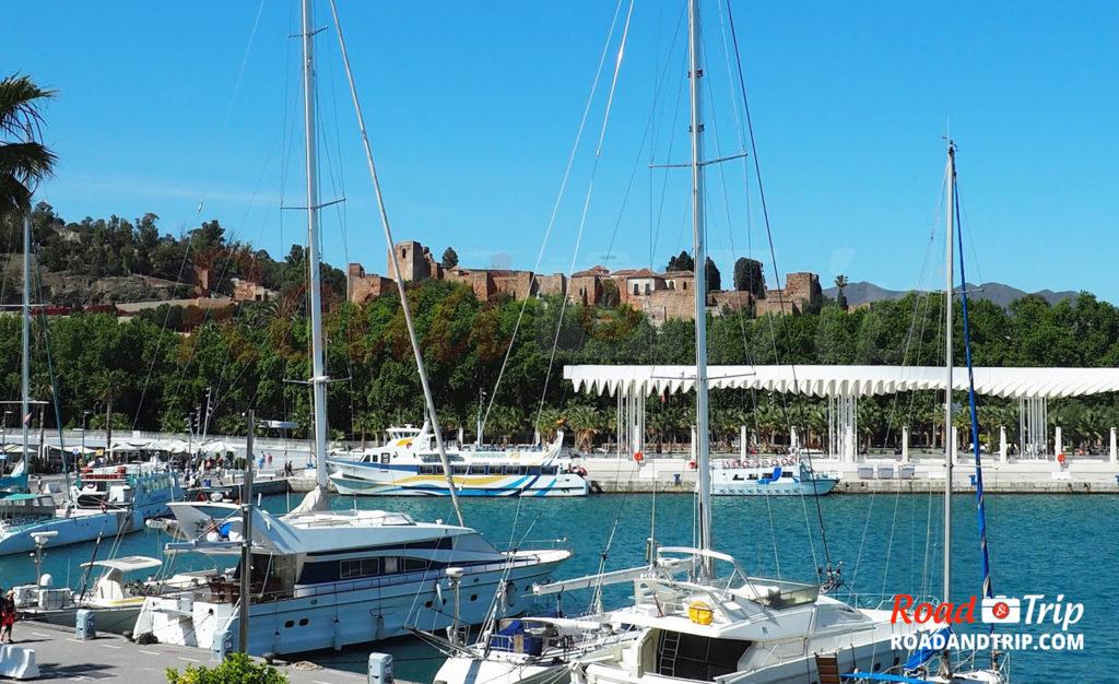 Alcazaba vu du port