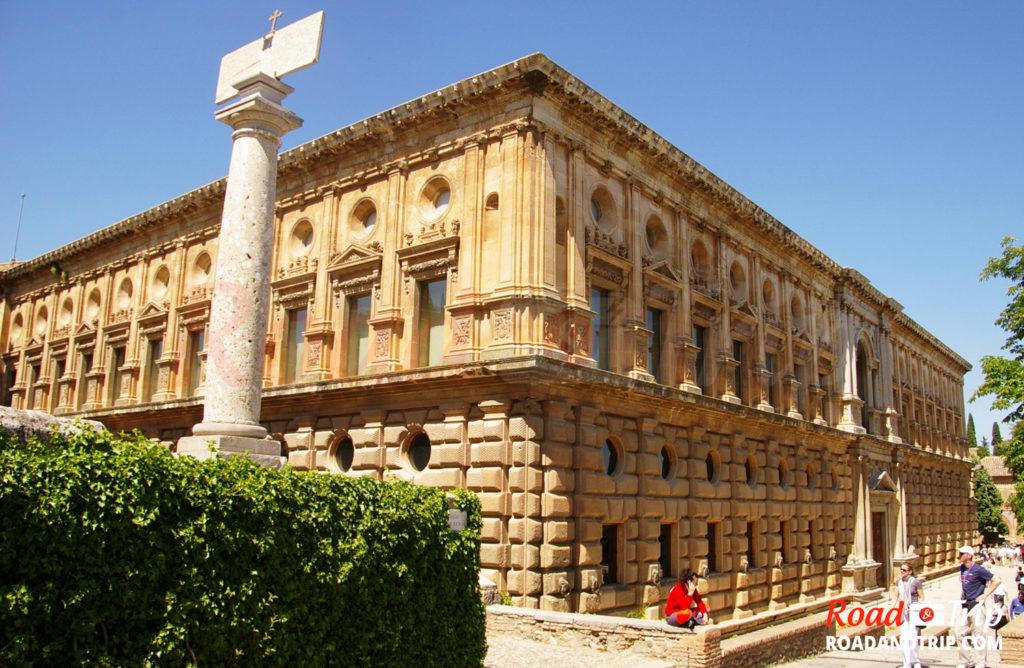 Alhambra, le Palais de Charles Quint