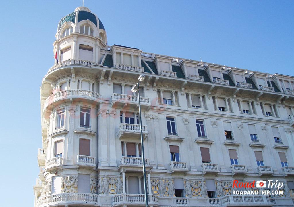 Architecture typique de Gênes