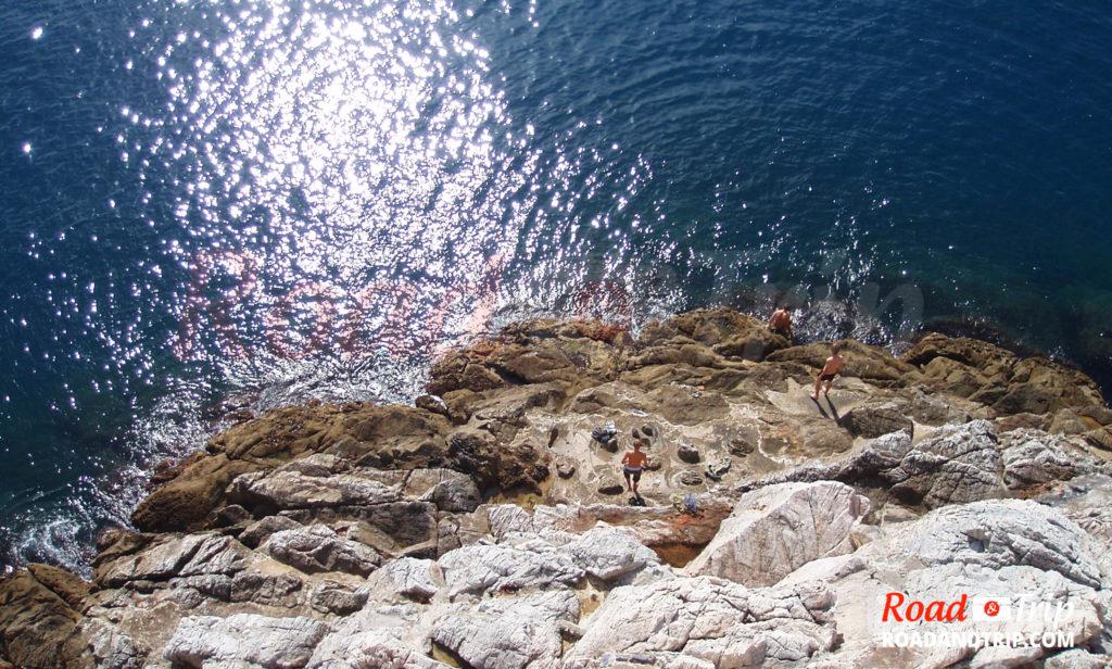 Baignade à Portovenere