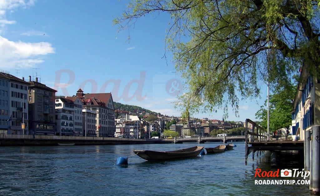 Balade à Zurich au bord du lac