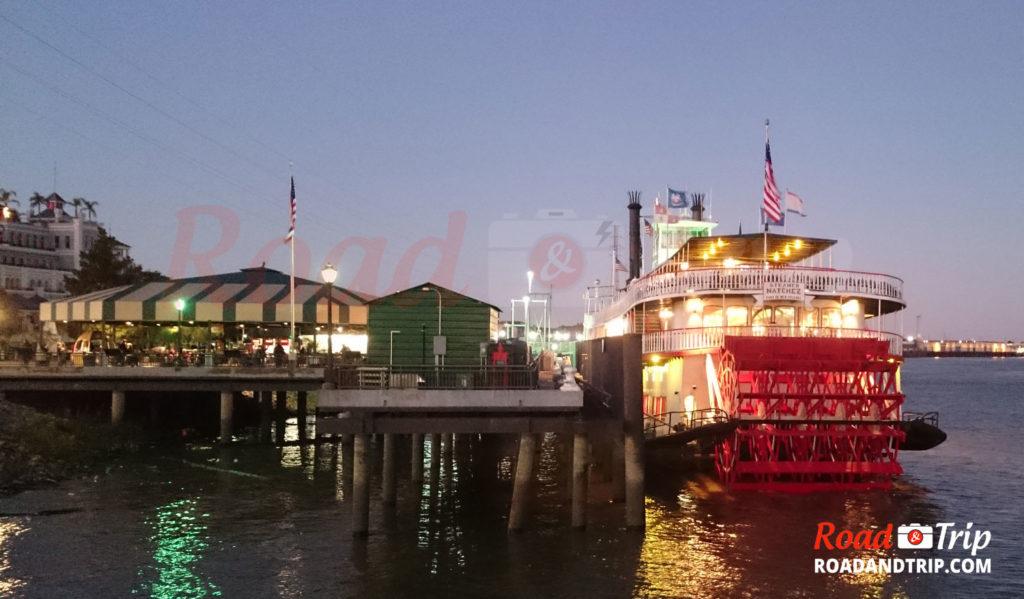 Balade au bord du Mississippi à la Nouvelle-Orléans