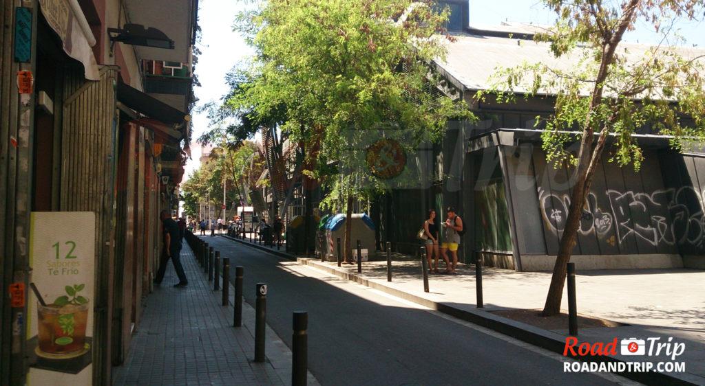 Balade autour de Las Ramblas