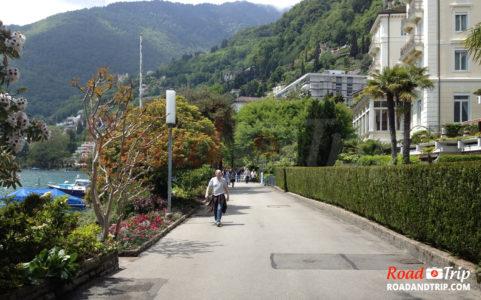 Balade sur le front de mer à Montreux