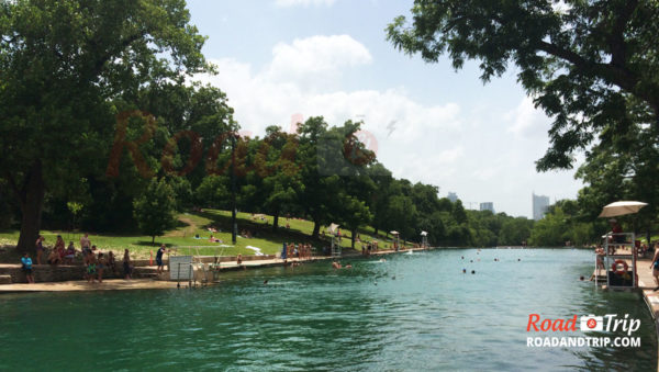 Barton Springs Pool à Austin