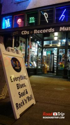 Beale Street et ses magazins de musique