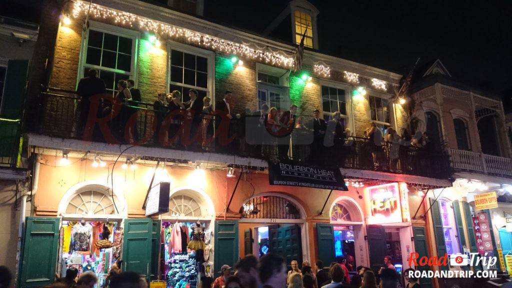 Bourbon Street et son ambiance