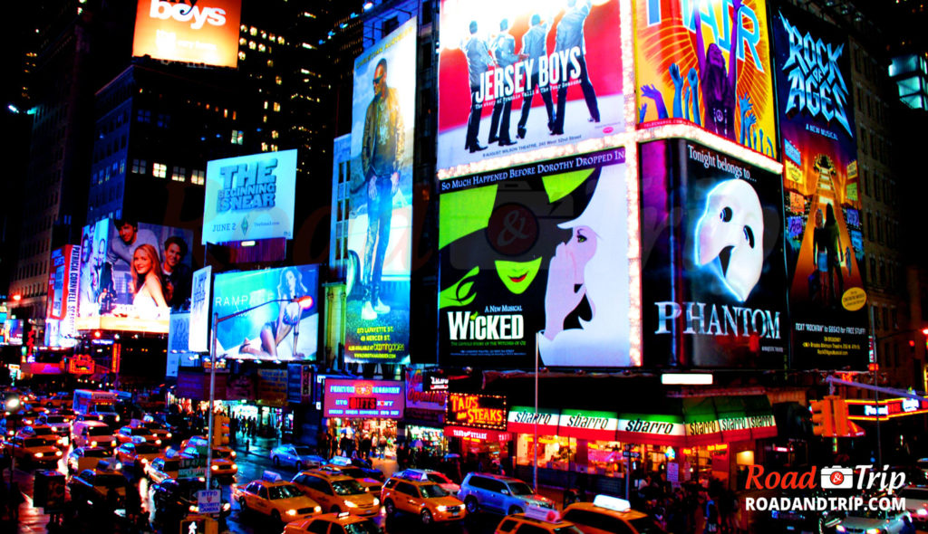 Broadway et ses spectacles
