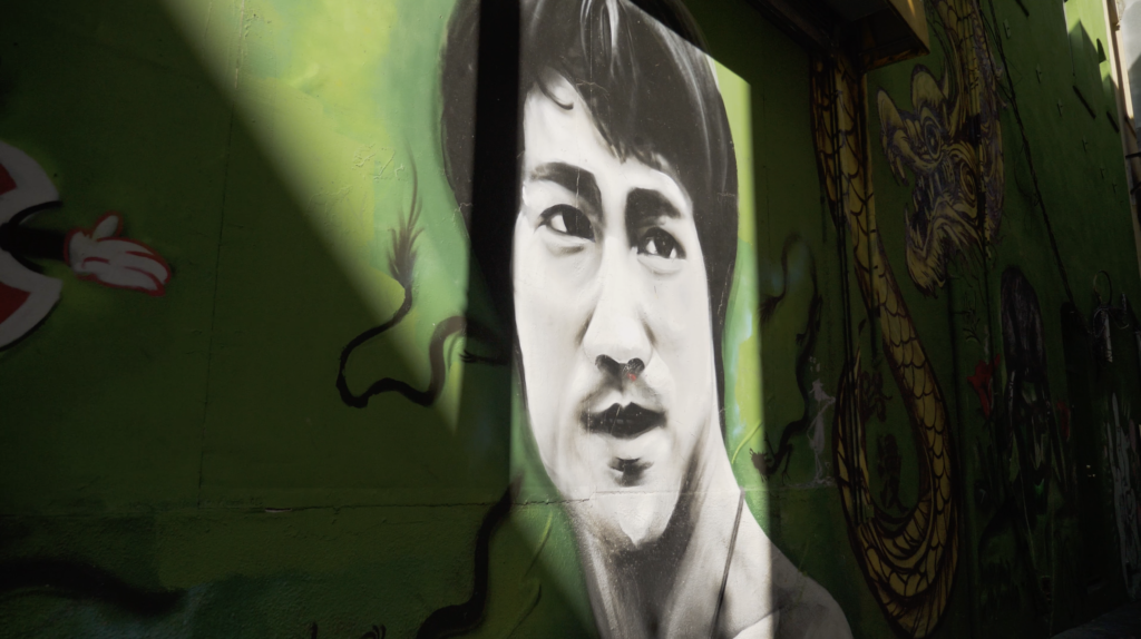 Bruce Lee à Chinatown