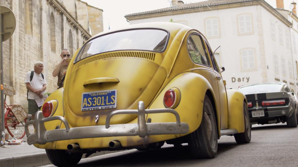 Bumblebee Coccinelle à Rencontre Européenne des Voitures Stars de Cinéma REVSC