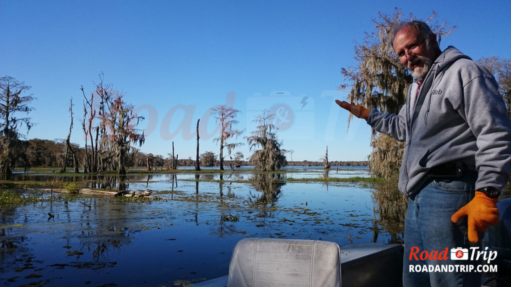 Butch du Cajun Country Swamp Tours