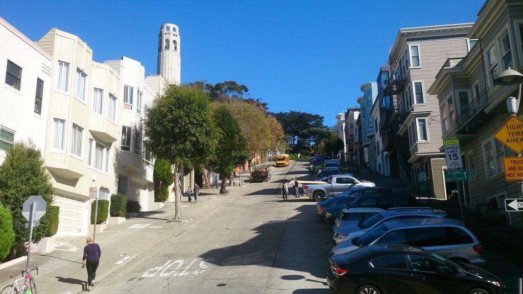 Ca grimpe pas mal à San Francisco