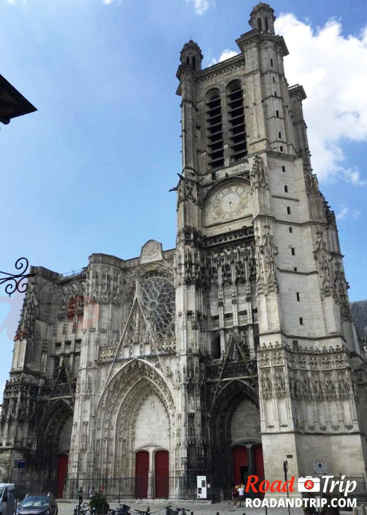 Cathédrale de Troyes extérieur