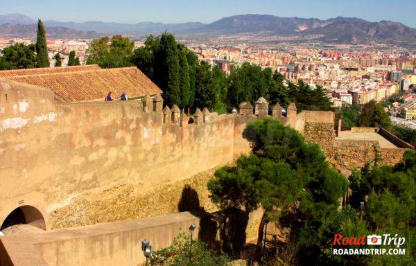 Château Gibralfaro à Málaga