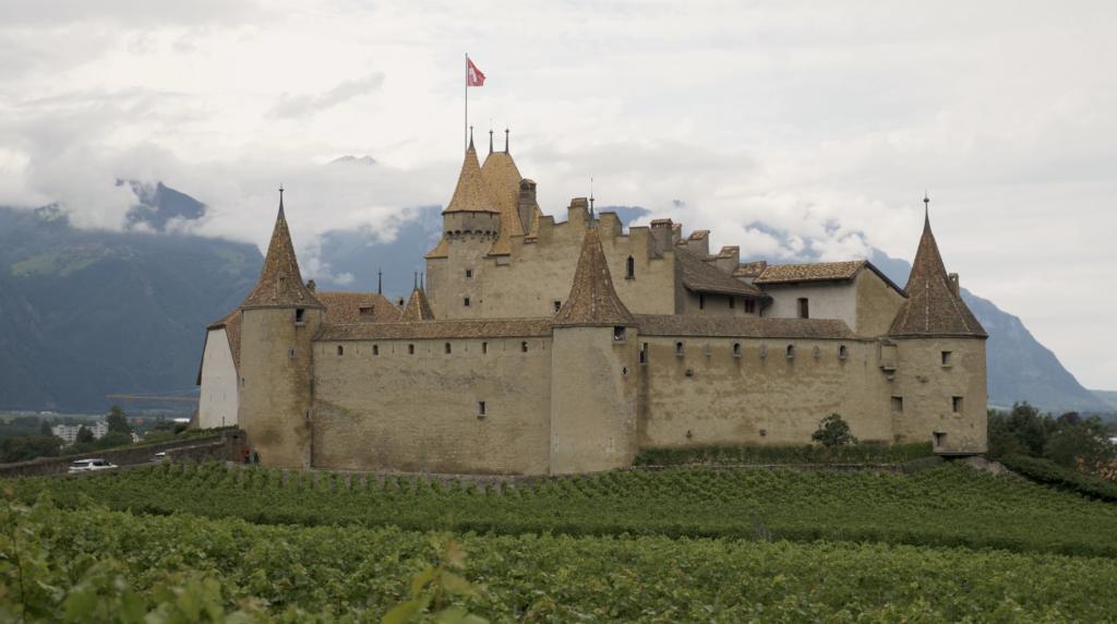 Château d'Aigle en Suisse
