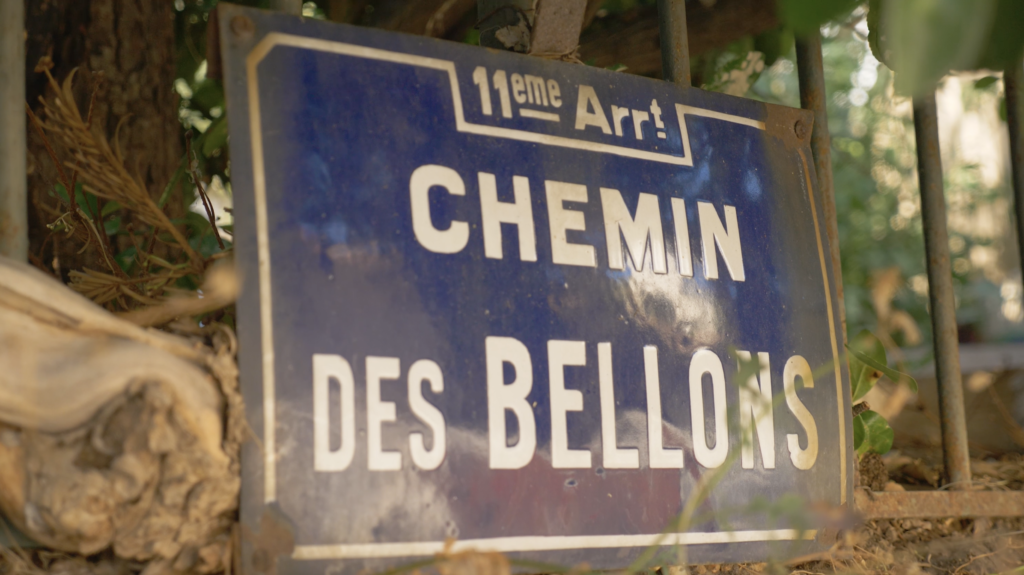 Chemin des Bellons dans les collines de Pagnol