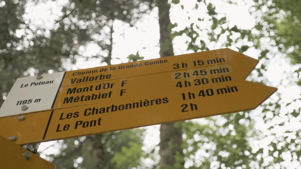 Chemins de randonnées dans la Vallée de Joux Suisse