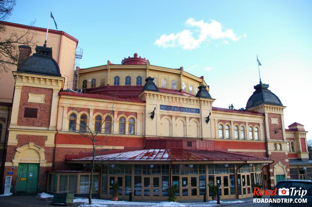 Cirkus à Stockholm