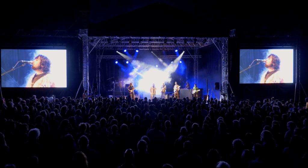 Concert Woodstock en Suisse