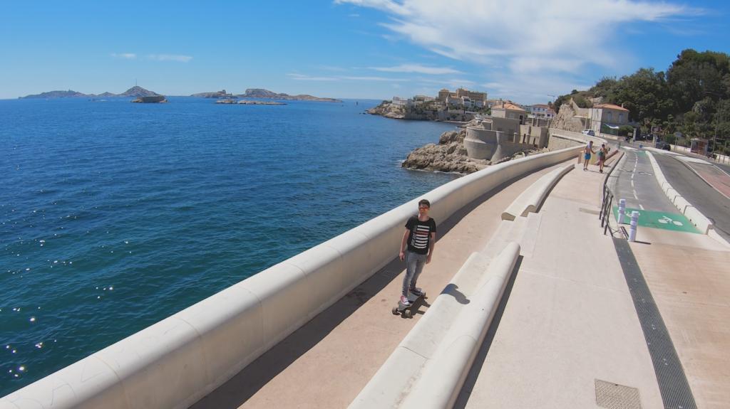 Corniche John Kennedy à Marseille