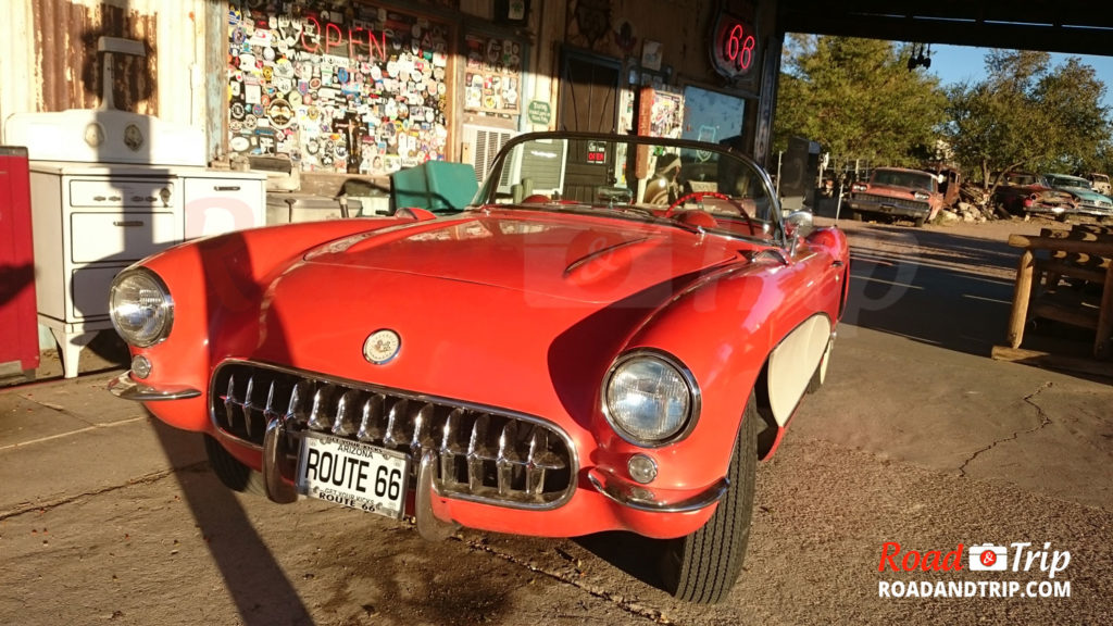 Corvette à Hackberry General Store
