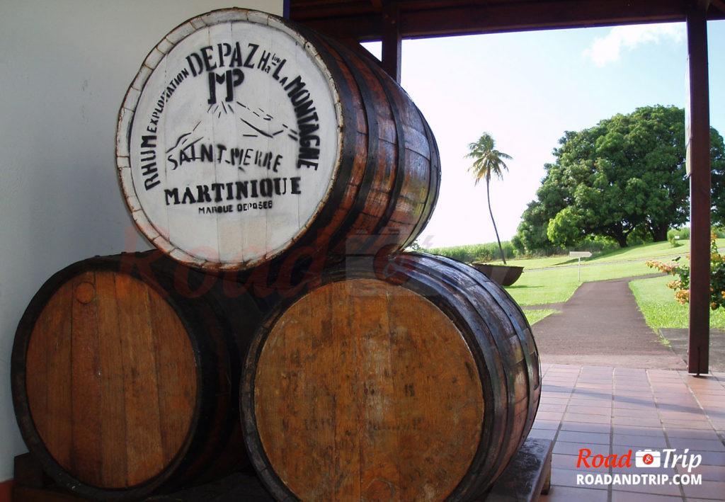 Distillerie Depaz en Martinique