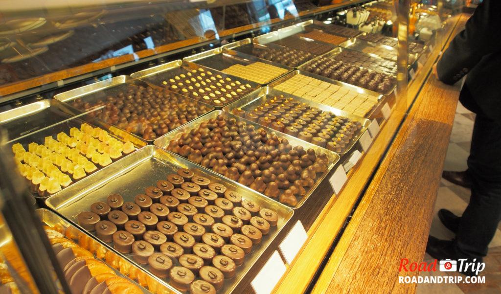 Du chocolat suisse en veux-tu en voilà