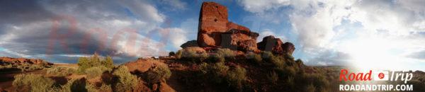 Edifice de Wukoki Pueblo
