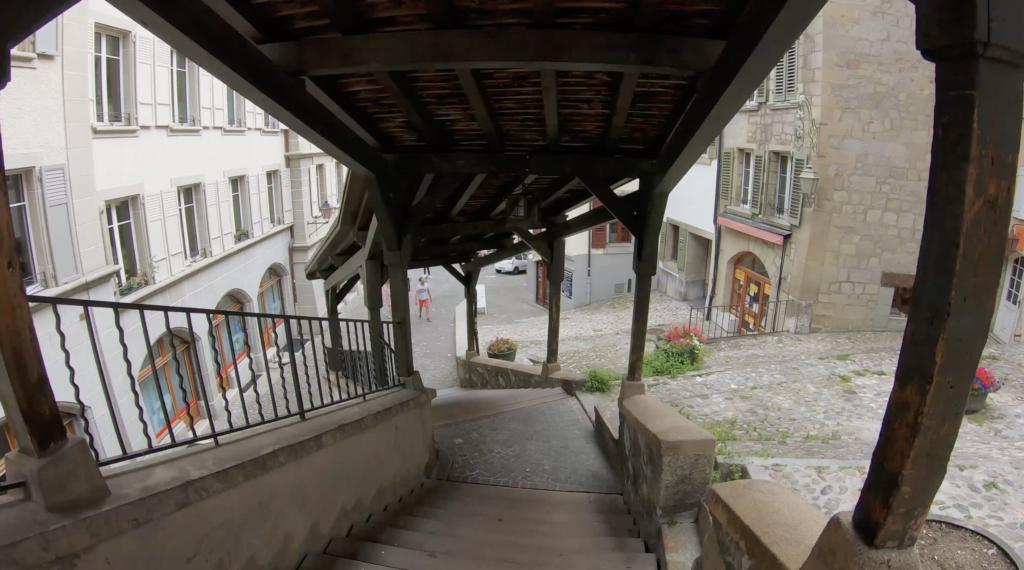 Escaliers du Marché à Lausanne