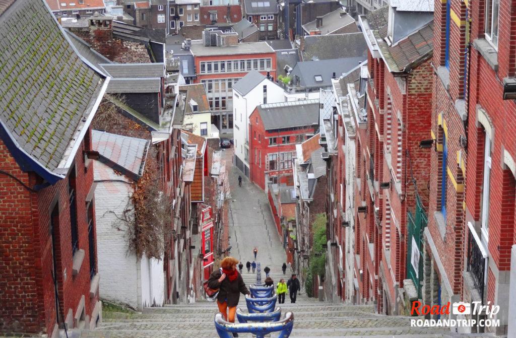 Escaliers du Mont Bueren à Liège