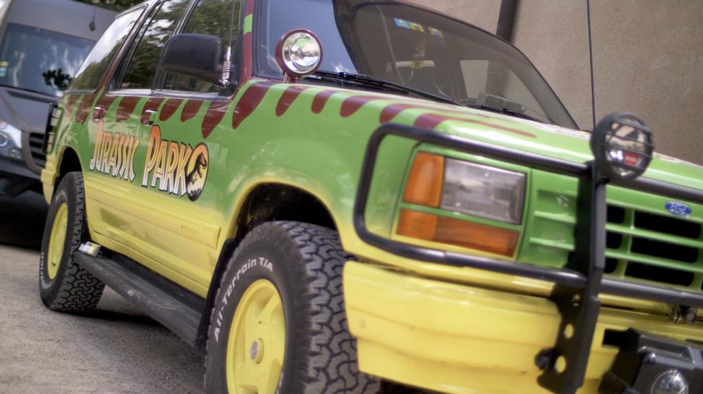 Ford Explorer Jurassic Park à Cluny