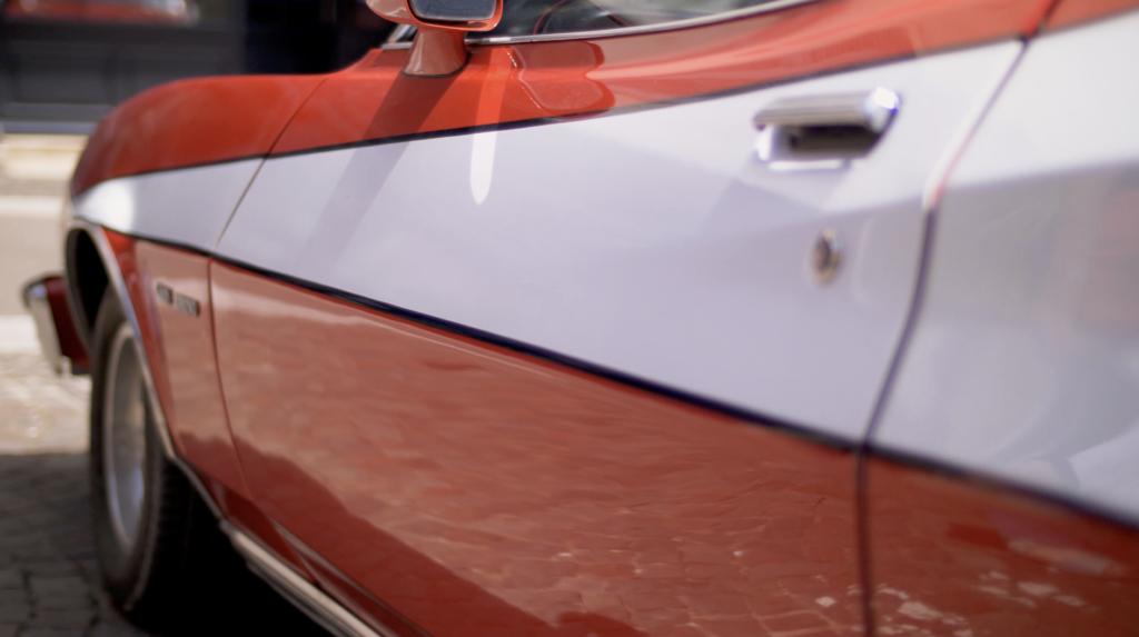 Ford Gran Torino à Cluny lors de la Rencontre Européenne des Voitures Stars de Cinéma REVSC