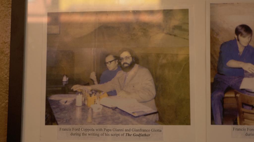 Francis Ford Coppola au Caffe Trieste