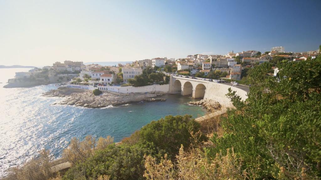 Front de mer à Marseille
