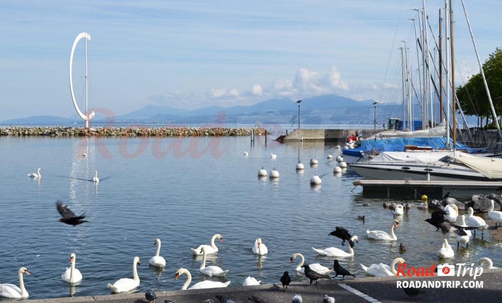 Front de mer Ouchy-Lausanne