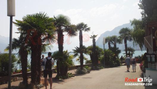 Front de mer entre Montreux et Chillon