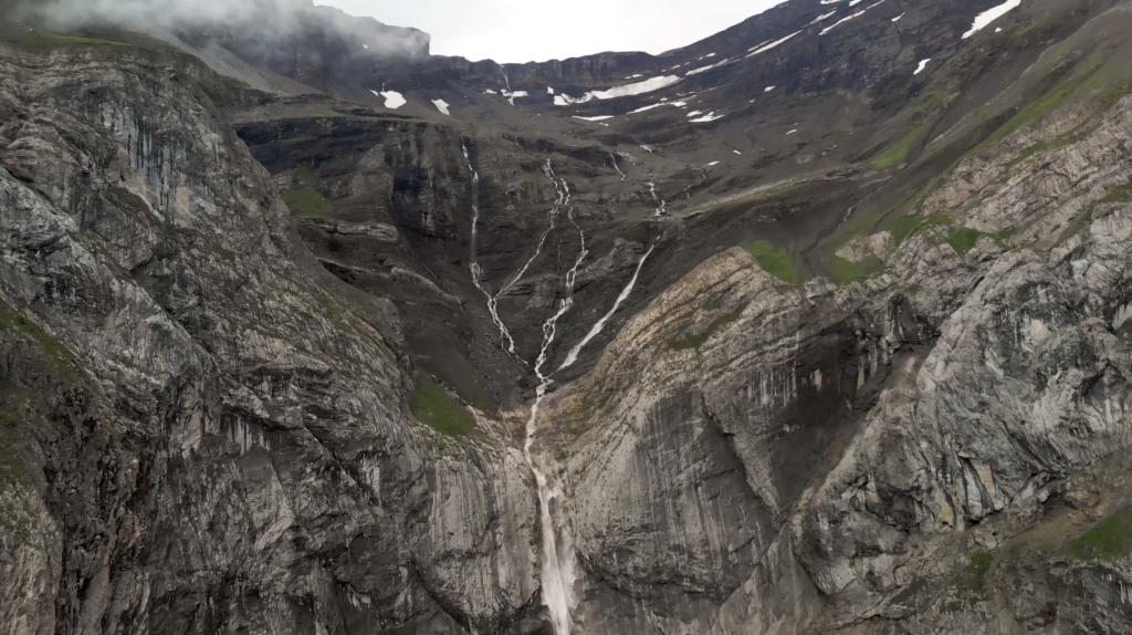 Glacier des Diablerets à 3000 mètres d'altitude