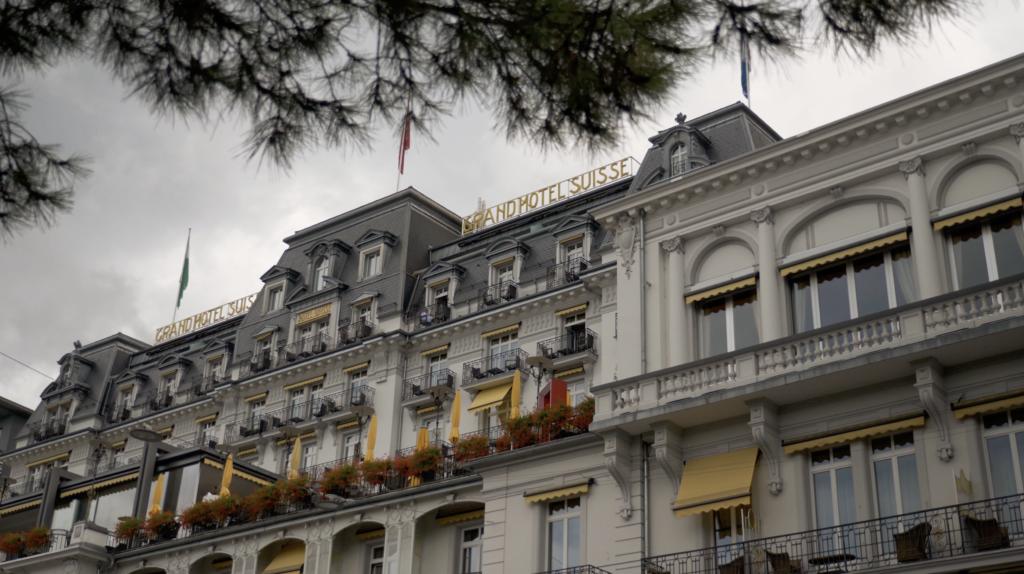 Grand Hotel Suisse à Montreux