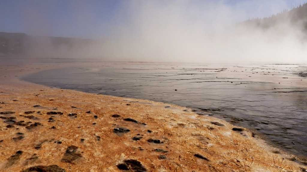 Grand Prismatic Spring à Yellowstone