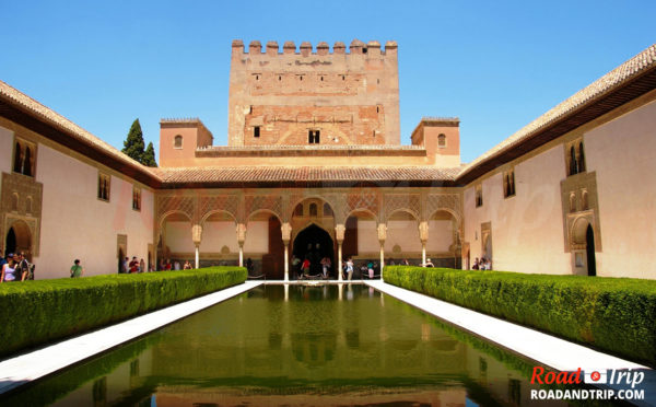 Grenade et le Palais de l'Alhambra