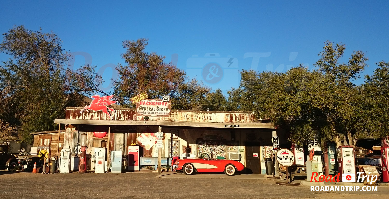 Hackberry General Store sur la Route 66