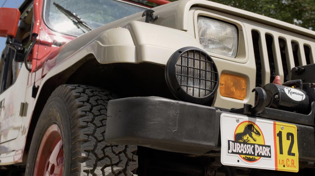 Jeep de Jurassic Park à Cluny