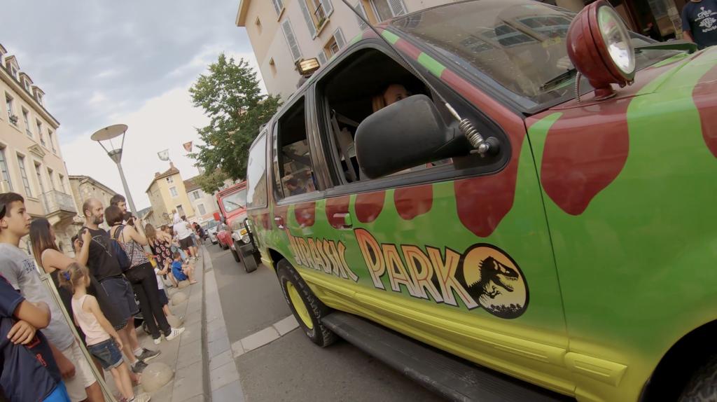 Jurassic Park en défilé à Cluny