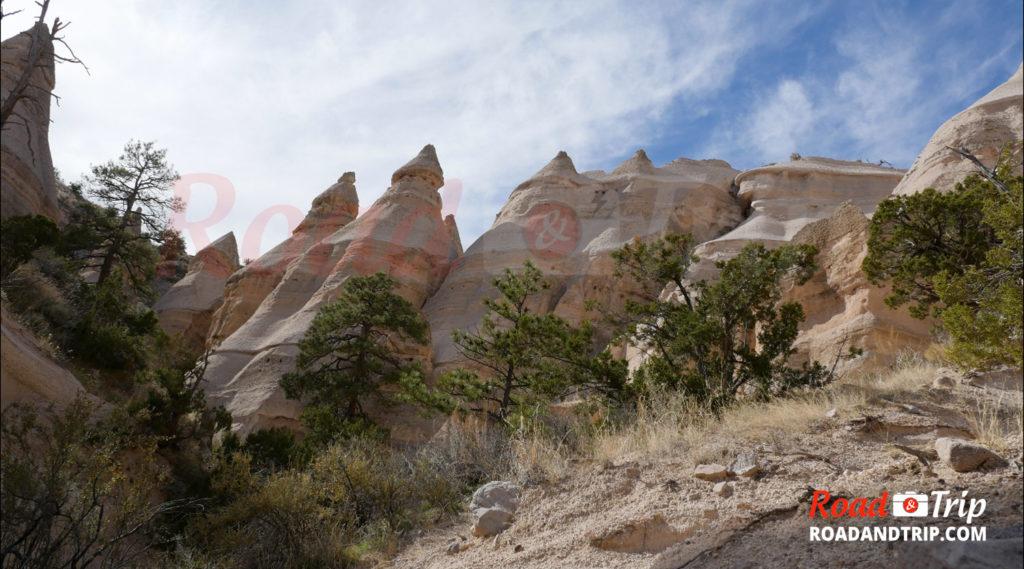 Kasha-Katuwe Tent Rocks et ses formations rocheuses