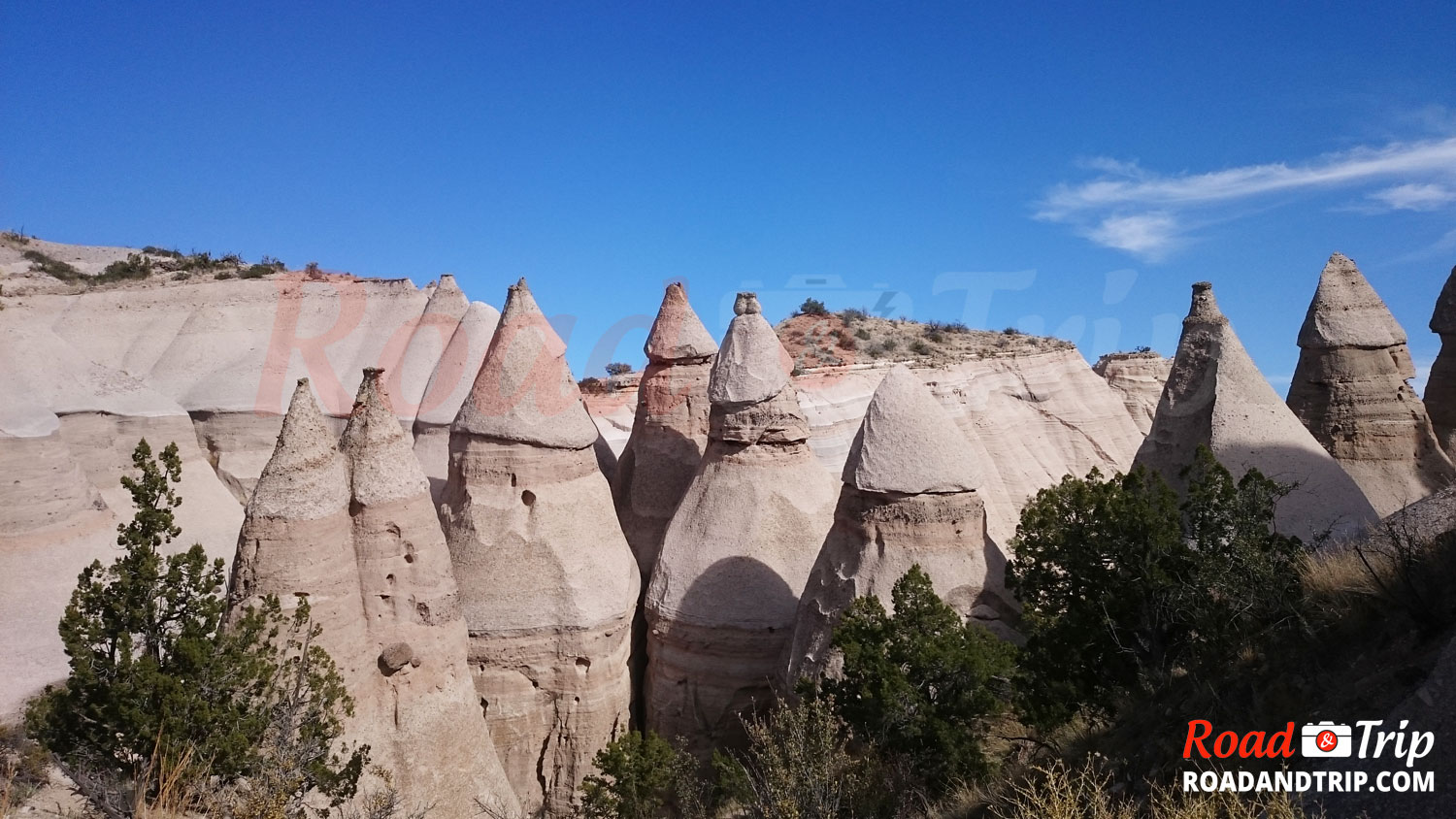 Randonnée à Tent Rocks National Monument